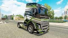 Pele Conceito de Imagem para a Volvo caminhões