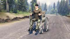 Acesso para cadeira de rodas