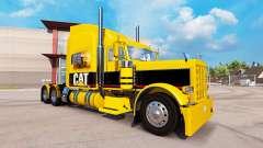 GATO de pele para o caminhão Peterbilt 389