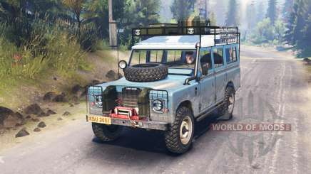 Land Rover Defender Series III para Spin Tires