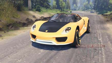 Porsche Carrera para Spin Tires