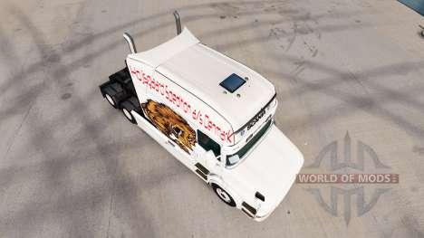 Urso de pele para caminhão Scania T para American Truck Simulator