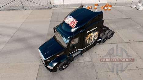 A pele de Indiana Espírito para o caminhão Peter para American Truck Simulator