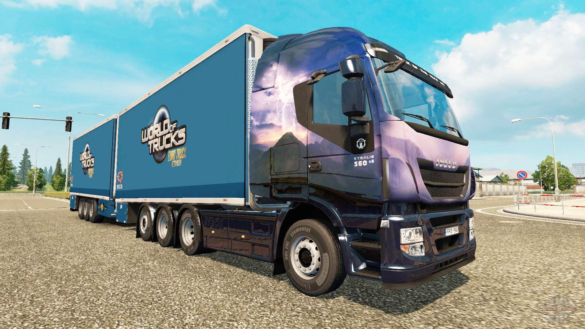 chassis adicionais para euro truck simulator 2. Black Bedroom Furniture Sets. Home Design Ideas