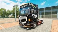 Pele Scania Preto para trator Scania