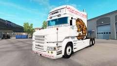 Urso de pele para caminhão Scania T