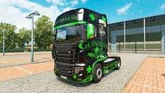 Guinness pele para o caminhão Scania R700