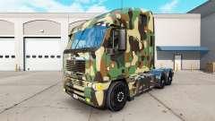 A pele do Exército no caminhão Freightliner Argo