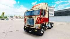 A pele em Sherman Bros caminhão Freightliner FLB