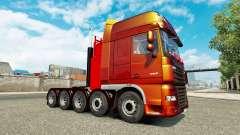 Chassis adicionais para tractor DAF XF