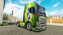 Pele Brasil na Volvo caminhões