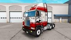 Pele Águia de Prata caminhão Freightliner FLB