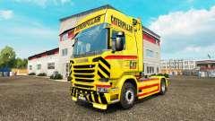 GATO de pele para caminhão Scania