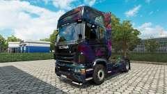 O Fractal de Chama para a pele do Scania truck