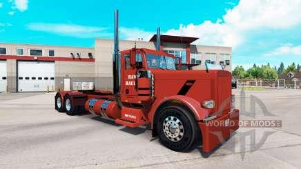 Pele de Falcão Transportando para o caminhão Peterbilt 389 para American Truck Simulator