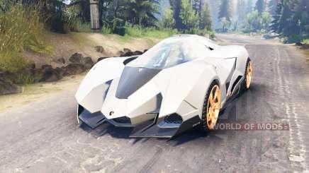 Lamborghini Egoista para Spin Tires