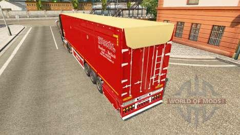 Semi-reboque basculante Bodex v2.0 para Euro Truck Simulator 2