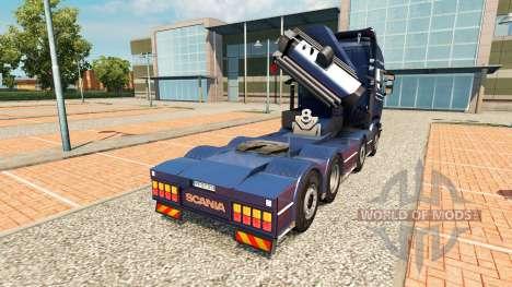 Chassis 8x4 Scania para Euro Truck Simulator 2