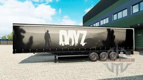 Pele DayZ na semi para Euro Truck Simulator 2