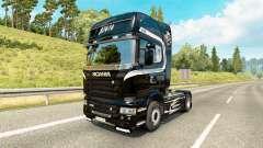 Pele Scania Caminhões para trator Scania