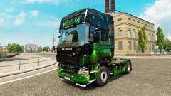 Obras de arte para a pele do Scania truck