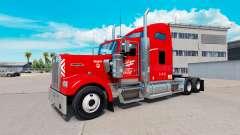Heartland Express pele [red] caminhão Kenworth