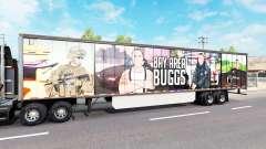 A pele da Área da Baía de Buggs no trailer