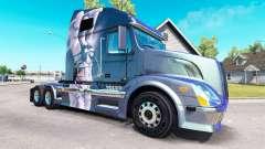Fantasia de pele para a Volvo caminhões VNL 670