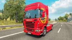 Mezzo Mistura de pele para o Scania truck