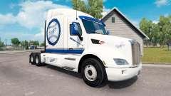 LA Dodgers pele para o caminhão Peterbilt