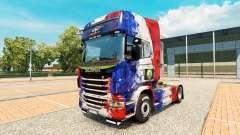 Pele França da Copa de 2014 para o Scania truck