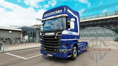 Mainfreight pele para o Scania truck para Euro Truck Simulator 2