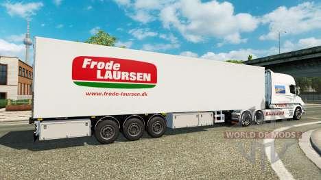 Semi-reboque-o frigorífico Narco para Euro Truck Simulator 2