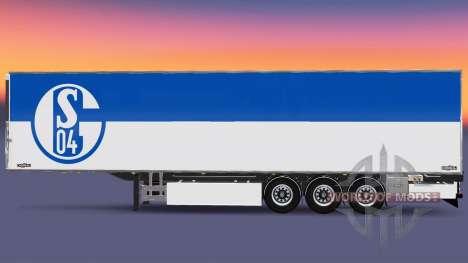 Semi-reboque Chereau FC Schalke 04 para Euro Truck Simulator 2