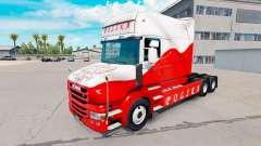 Pele Airbrash Polska para caminhão Scania T