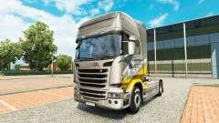 Maroni Transporte de pele para o Scania truck