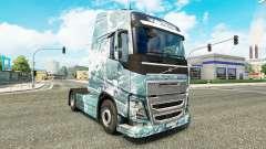 Estrada de gelo pele para a Volvo caminhões