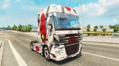 Pele Japao a Copa de 2014 para caminhões DAF