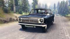 GAZ-24 Volga para Spin Tires