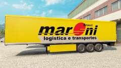 Maroni Transportes pele para reboques