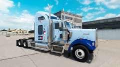 Pele UNC Tarheel v1.01 no caminhão Kenworth W900