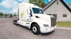 Swift Transporte de pele para o caminhão Peterbi