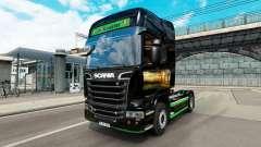 Pele Revada e de Keuster no trator Scania