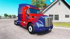 Optimus Prime skin para o caminhão Peterbilt
