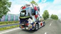 Pele Japao a Copa de 2014 para o Scania truck