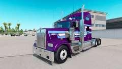 Pele Ícone de Estilo no caminhão Kenworth W900