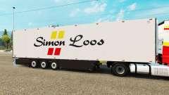 Semi-reboque frigorífico Schmitz Simon Loos
