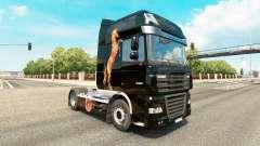 Caballos de pele para caminhões DAF
