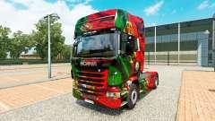 Pele Portugal a Copa de 2014 para o Scania truck