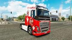 Pele 1. FC Koln na Volvo caminhões